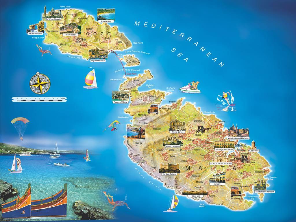 Cartina Politica Malta.Malta Paradiso Fiscale I Paradisi Finanziari Nel Mondo